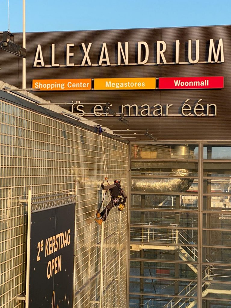 Montage Woonmall Alexandrium Rope Access Plus